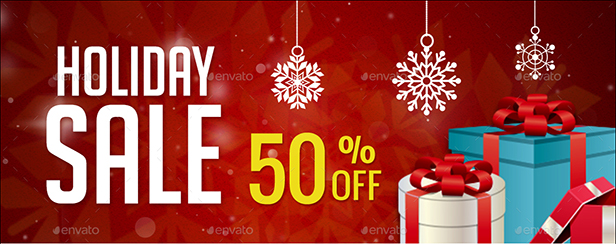 Holiday Sale -50%
